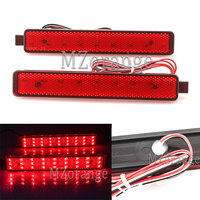 MZORANGE 1 Pair Tail Light for Cadillac SRX 2007 2013 LED Rear end car Brake light source drl 12V Car Auto Waterproof lighting