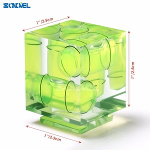 Image 3 - Universal 3 Axis Hot Shoe Fixed Bubble Spirit Level 3D Spirit Level For Canon/Nikon/Pentax DSLR Camera Photography Accessories