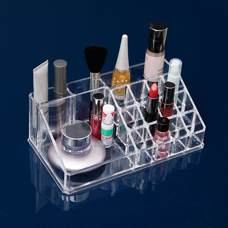JULYS SONG 2017 New Fashion Multifunctional Makeup Organizer Storage Box PS Make Up Organizer Cosmetic Organizer Makeup Storage
