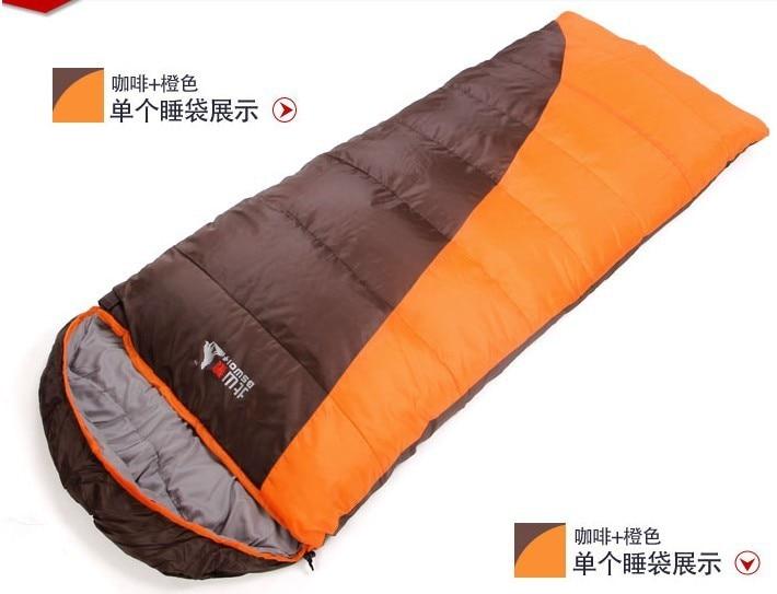 ФОТО 3 Season Sleeping Bag 230*80CM Camping Sleeping Bag (2 pieces/lot) Color Can Choose Free shipping