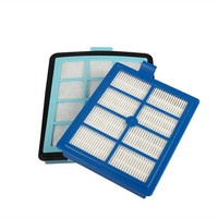 1x Exhaust Vents Filter 1x Intake Vents HEPA Filter Replacement For Philips FC8766 FC8767 FC8760 FC8764