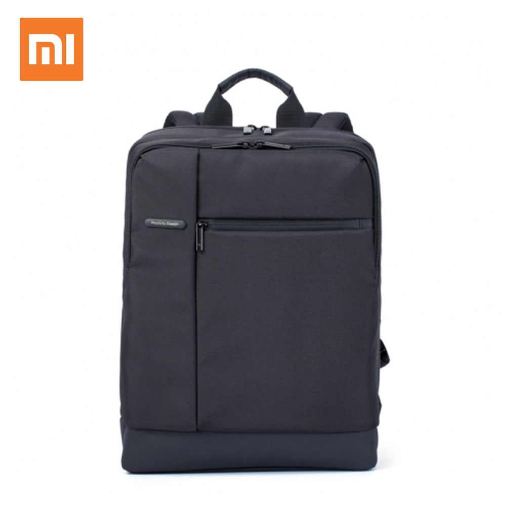 Original Xiaomi Mi Backpack Classic Business Backpacks 17L Capacity Students Laptop Bag Men Women Bags For 15-inch Laptop Hot swisswin hot sale swiss 15 inch laptop bag case men women backpack wholesale price backpacks 2015 new brand cooler bag black