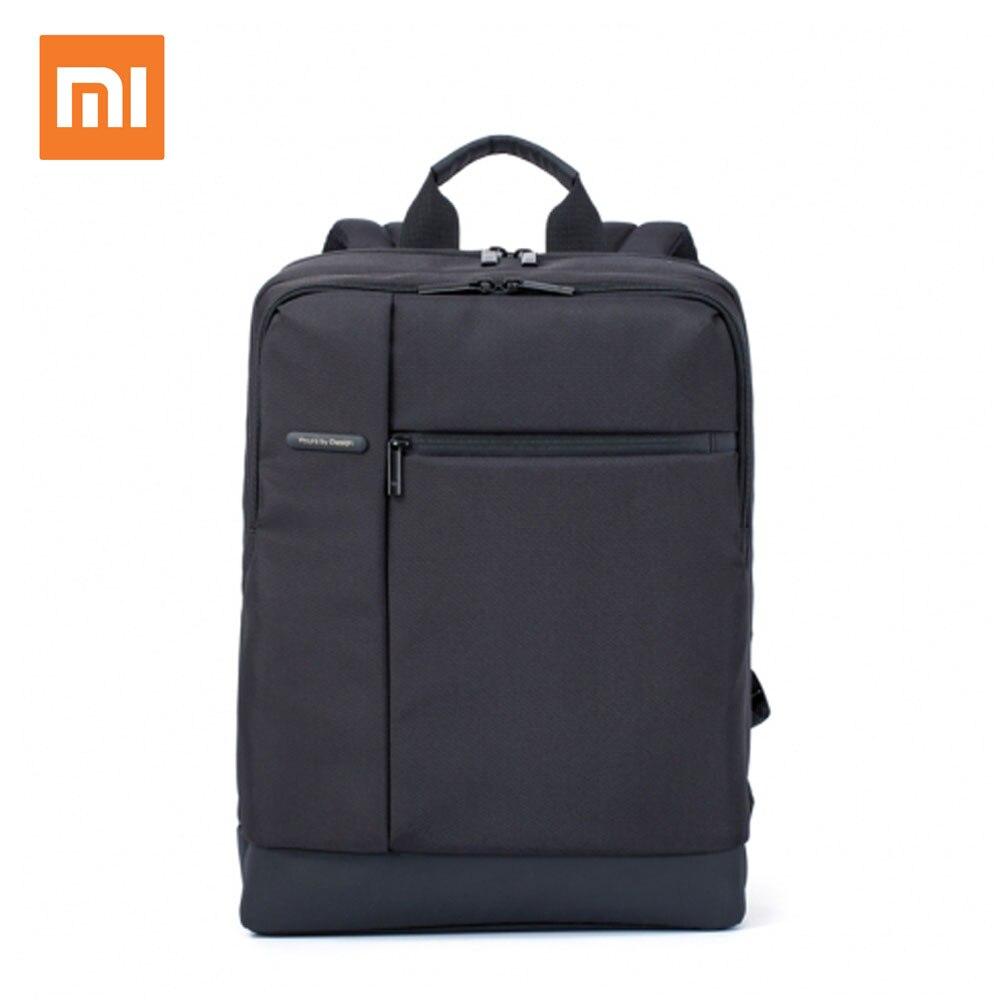 Original xiao mi mi mochila negócios clássicos mochilas 17l capacidade estudantes bolsa para computador portátil masculino sacos para 15 polegadas portátil quente