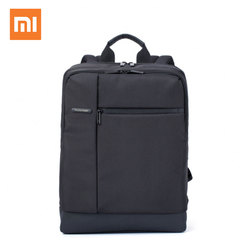 Oryginalny Xiao mi mi plecak klasyczny biznes plecaki 17L pojemności studentów torba na Laptop mężczyzna kobiet torby na 15 cal laptopa Hot w Torby od Elektronika użytkowa na