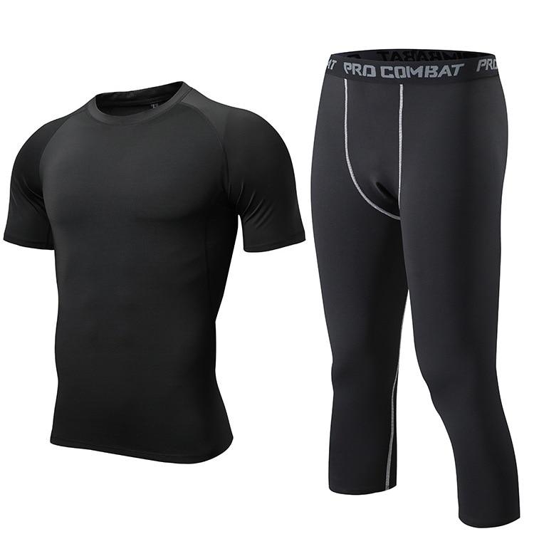 Plus Size 3XL Men Sleepwear Comfortable Elastic Tight Underwear Summer NEW Man Yoga Pajamas Pyjamas Suit Casual O-Neck Nightwear