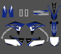New Style TEAM GRAPHICS DECALS STICKERS FOR Yamaha YZ250F YZF250 YZF 250 YZ 250F 2010 2011 2012 2013 Motorcycle Racing Kits