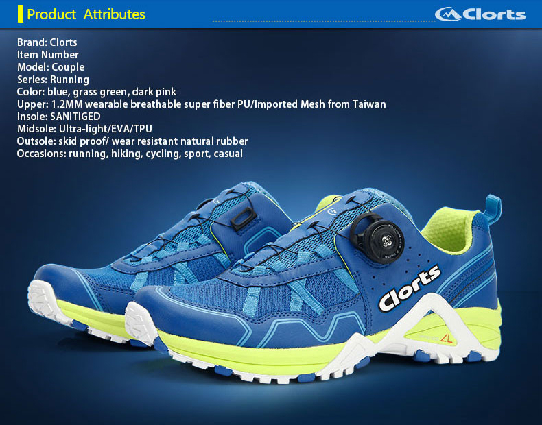 16 Clorts Men BOA Lacing System Running Shoes Free Run Lightweight Sport Shoes Breathable Outdoor Running Sneakers 3F013 13