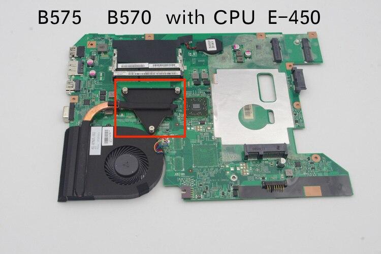 Genuine NEW 48.4PN01.011 For Lenovo B575 B575E B570 B570E Laptop motherboard with AMD E 450 cpu