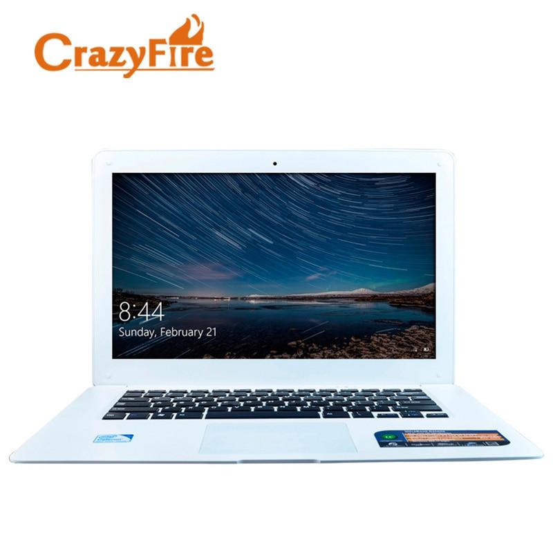 все цены на  Crazyfire 14 Inch Laptop Computer 8GB RAM & 256GB SSD & 1TB HDD with Intel Celeron J1900 Quad Core Mini 1.30 Webcam Windows 10  онлайн