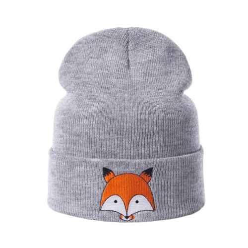 PUDCOCO el más nuevo niño niña y niño bebé invierno primavera cálido Crochet sombrero de punto Niño casual gorros de animales
