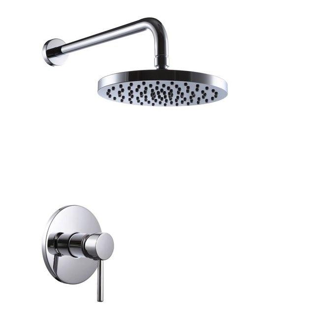 Badezimmer Dusche Wasserhahn Set mit Grob in Verdeckte Ventil mit ...