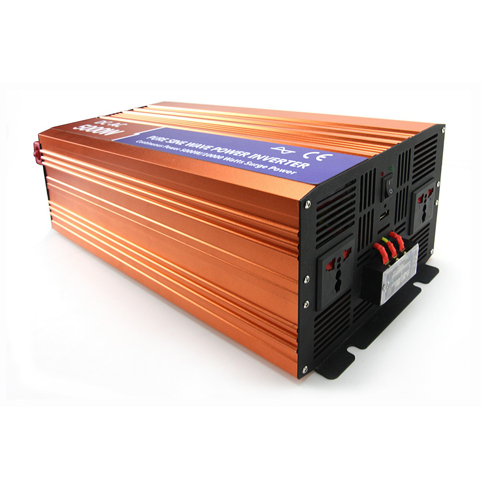 цена на MAYLAR 5000W 12VDC 110V/120V/220V/230VAC 50Hz/60Hz Peak Power 10000W Off-grid Pure Sine Wave Solar Inverter or Wind Inverter
