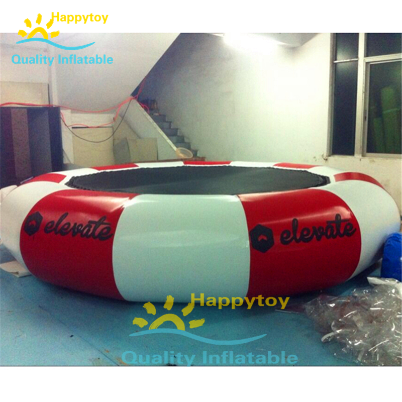Floating Water Jumping Bed Inflatable Splash Padded Jump Bouncer Platform Sungear Water Trampoline