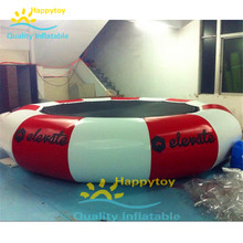 Floating Water Jumping Bed Inflatable splash padded jump bouncer platform sungear water trampoline(China)