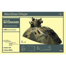 Hasegawa 64004 1/35 MK04 Maschinen Krieger Nutcracker PKH-103 Assembly Scale Science Fiction Model Building Kits TTH