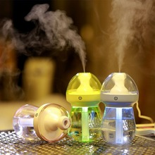 240ML Portable USB Charging Air Humidifier LED Night Light Home Office Car Humidifiers Mist Maker Air Purifier