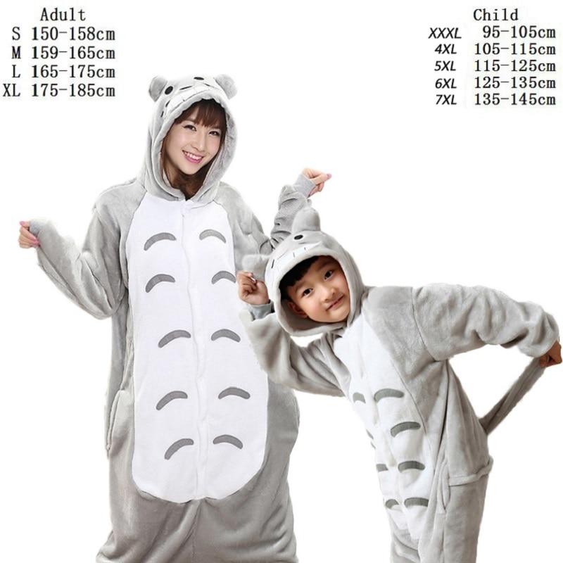Kigurumi, conjunto de pijamas suaves y cómodos con diseño de unicornio para adultos, ropa de dormir, ropa de casa Unisex para niñas/niños/ropa de dormir