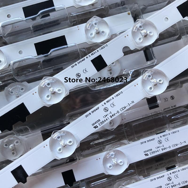 Image 4 - New100% 14 Pieces(7R+7L) UA40F5000ARXXR UA40F6300AJXXR LED strip for SAM SUNG 2013SVS40F L8 L5 D2GE 400SCA R3 D2GE 400SCB R3-in LED Bar Lights from Lights & Lighting