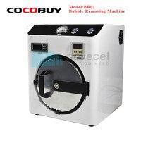 BR01 NOVECEL Mini OCA Bubble Remover Maszyna Auto Maszyna Usuwania Pęcherzyków Powietrza Dla Samsung i Iphone LCD Remontu