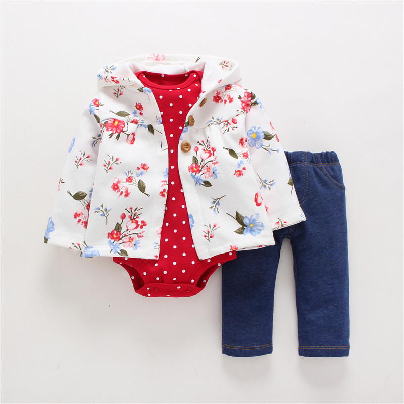 2018 Unisex Limited Special Offer 2018baby Boy Girls Clothes Set Cotton Chaqueta Of Punto Con Arrived Together Recien Born Ropa