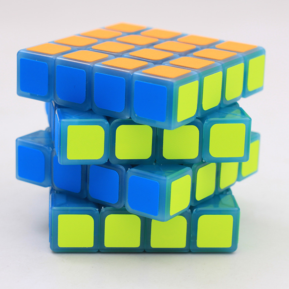 4*4 Glow in the Dark ZCUBE 4 Layers 4x4x4 Games and Puzzles Anti-stress Magic Cube Toy for Chidlren Cubo Megico