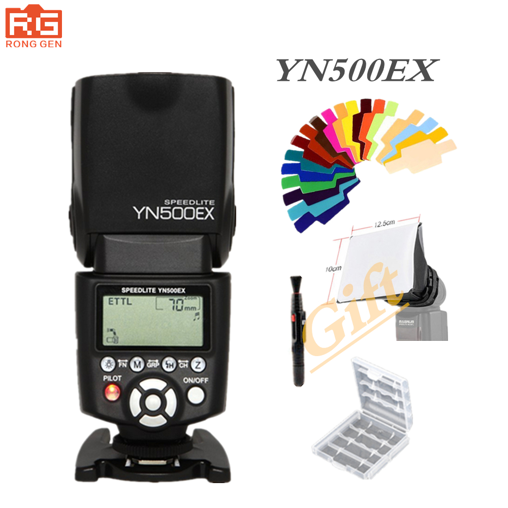 YONGNUO YN-500EX C Camera Flash Speedlite Wireless Slave TTL for Canon 5DIII / 5DII / 5D / 7D Support High-Speed Sync Flash yn e3 rt ttl radio trigger speedlite transmitter as st e3 rt for canon 600ex rt new arrival