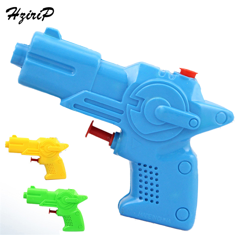 Hzirip 4Pcs Outdoor Children Playing Water Toys Kids Game Playing Tools Mini Transparent Solid Color Summer Water Gun Toy Gifts