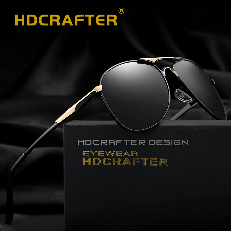Polarisierte Sonnenbrille Männer UV400 Pilot Marke Design Sonnenbrille Männlich Fahren Sonnenbrille Klassische Brillen Gafas De Sol Shades