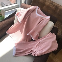 O-Neck Short Sleeve Pajamas for Women