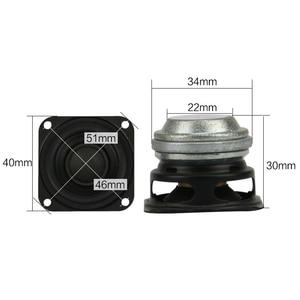 Image 3 - 1.5 cal 40MM głośnik pełnozakresowy 4OHM 10W Bass neodymowy domowy przenośny głośnik bluetooth HIFI dla link DIY 2 sztuk