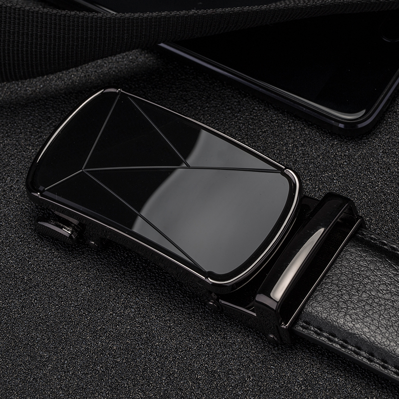 Cow Men's Belts Automatic Buckle Genuine Leather Belt Men Black Male Belt Luxury Strap Long Belt For Men Designer Belts Men