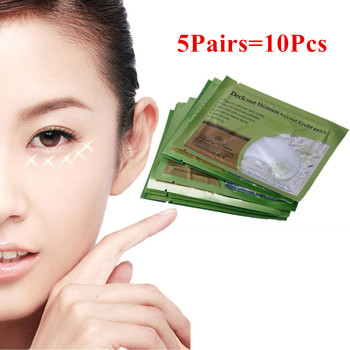 10pcs Anti-Wrinkle Crystal Collagen Eye Mask Deck Out Women Crystal Eyelid Patch Remove Black Eyes Care free shipping