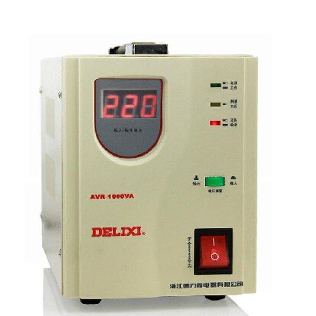 Pure copper coiled voltage stabilizer AVR 1000VA 1000W 1KW 1KVA ...
