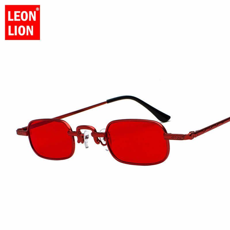 71069a1a57 ... LeonLion 2018 Small Frame Sunglasses Women Men Oval Glasses Lady Luxury  Retro Sun Glasses Vintage ...