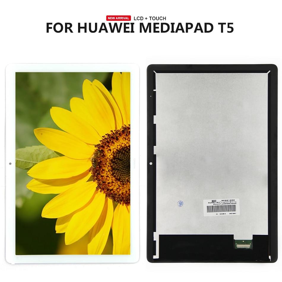 ЖК-дисплей для Huawei MediaPad T5 10, 10,1 дюйма, ЖК-дисплей с дигитайзером тачскрина в сборе для Huawei MediaPad T5 10, 1, 2, 5, 1, 2, 5, 1, 2, 1, 2, 1, 2, 2, 2, 1, 1, 2, 4, 1, 1, 2, 1, 2, 1, 1, 1, 2...