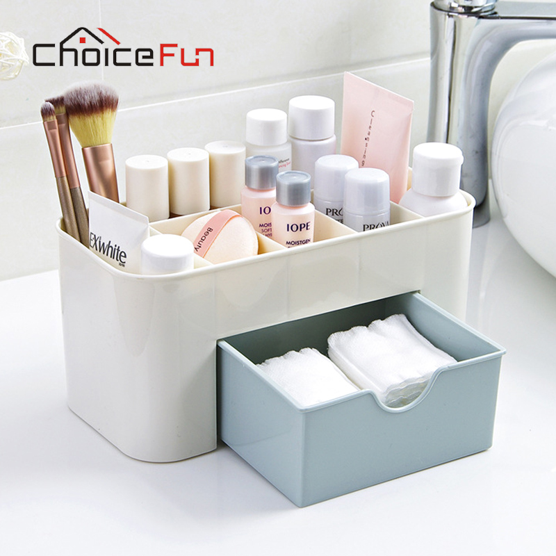Case Storage-Box Makeup-Brush-Holder Cosmetic-Organizer Plastic DIY FUN CHOICE Assembly