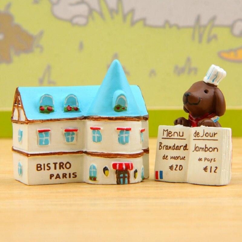 Mini Groceries Kitchen Restaurant Advertising Puppies PVC Action Figures <font><b>Toys</b></font> <font><b>Creative</b></font> <font><b>Micro</b></font> <font><b>Landscape</b></font> Decoration Model <font><b>Toys</b></font>