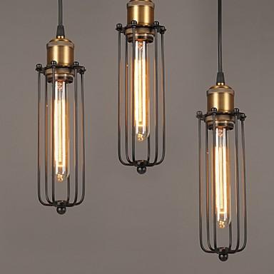 Edison Retro Style Loft Industrial Light Vintage Pendant Lamp Fxitures Lampshade Handlamp American Country 2