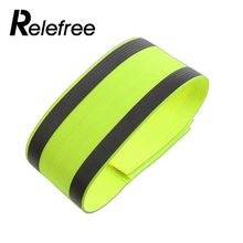 new Night Reflective Safety Belt Night Run Armband For Outdoor Sports Night Running Cycling Jogging Arm Strap Luminous Arm Band reflective safety vest belt for kid child children pupil security reflective waistcoat belt for outdoor running jogging cyclin