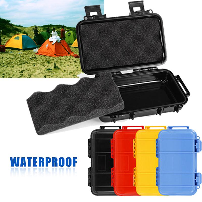 Fofar waterproof box Survival Case shockproof pressure Shockproof srorage case watertight seal box Outdoor Survival equipment