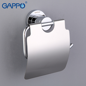 Image 5 - GAPPO Paper Holders Cover roll Toilet Paper hold Antique brass Roll Paper Hanger with Cover Modern Bathroom Accessories Wall