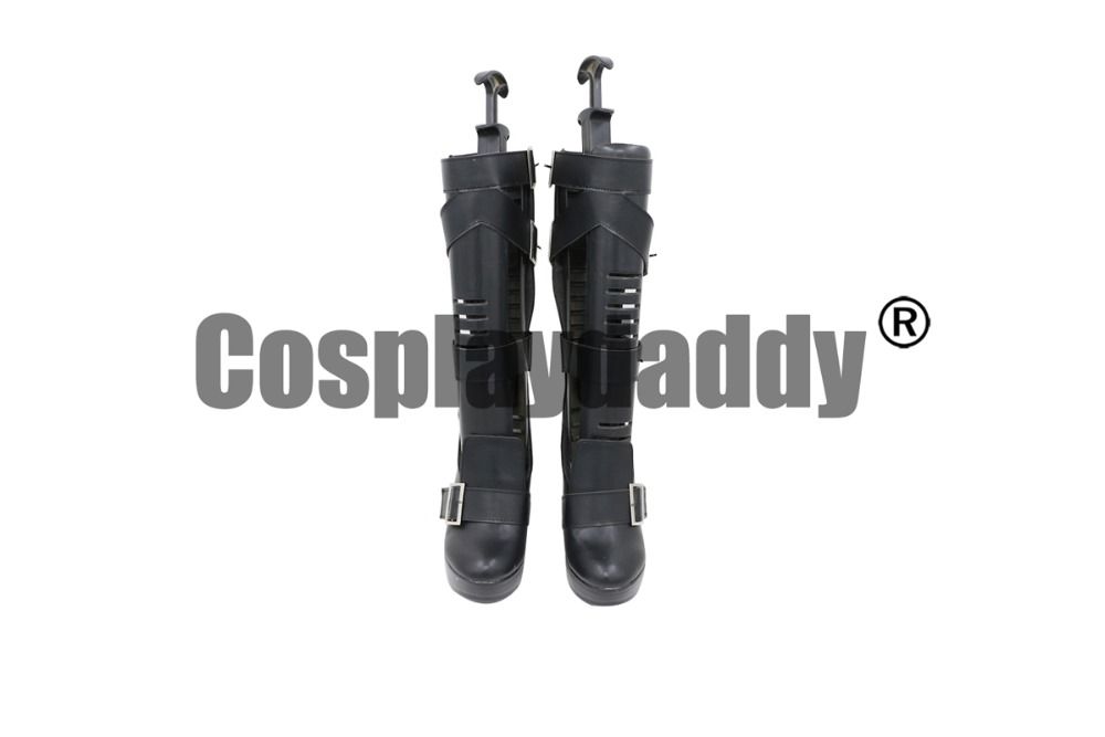 Girls Frontline Dolls Frontline WA2000 Walther WA 2000 Cosplay High Heel Shoes Boots C006