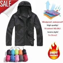 NaranjaSabor 2017 Men's Quick Dry Skin Jackets Women Coats Ultra-Light Casual Windbreaker Windproof Men Brand Clothing 15 Colors