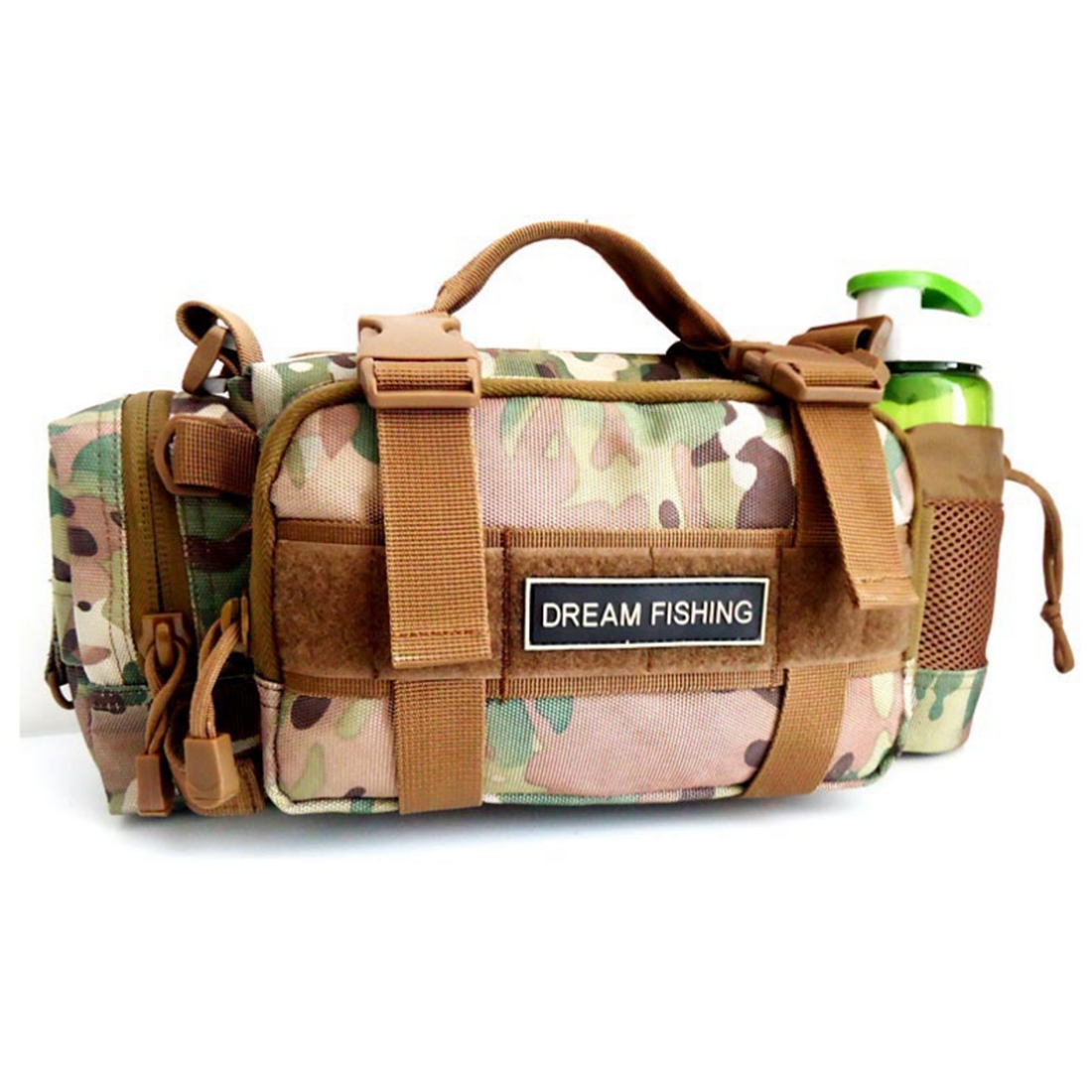 HIPSTEEN 2 Color Multi-Function Waist Bag Nylon Belt Bag For Travelling Mountaineering Satchel 35* 13* 16cm makino multi functional water resistant outdoor mountaineering nylon waist bag deep pink 6l
