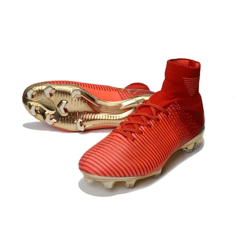 size 40 d4f1c 1683f Original Men Football Boots Cleats Training Long Spikes Kids Phantom  Sneaker Sport Neymar Athletic Ace Superfly Soccer Shoes