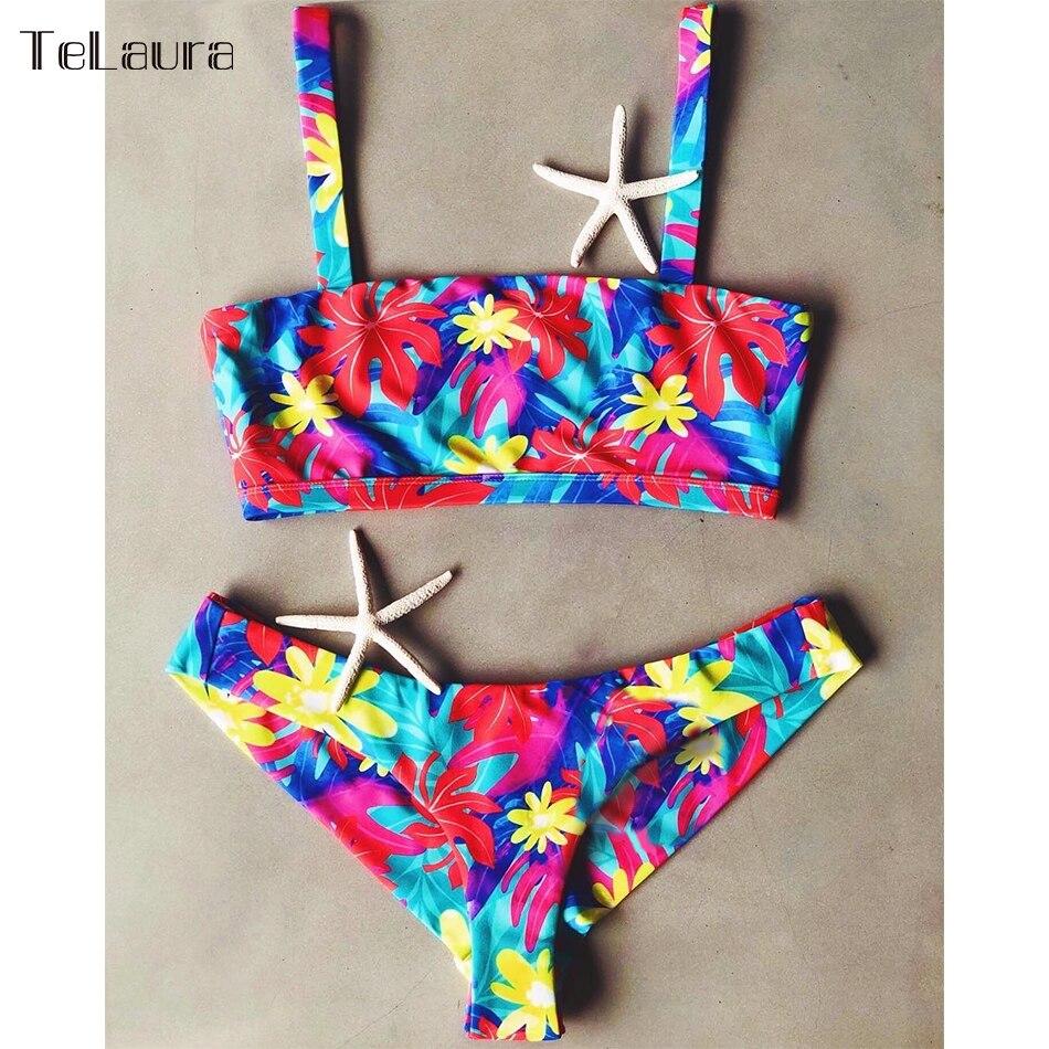 2019 New Sexy Bikini Swimwear, Women's Bikinis, Biquini Print Brazilian Bikini Beach Wear 5