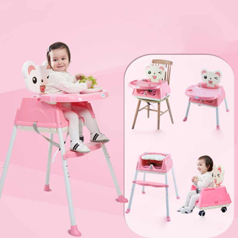 Baby Furniture Children Chair  Portable Infant  Seat Dinner Table Adjustable Folding Chair Multifunction Adjustable Kids Chair