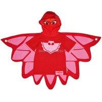 Girls Clothes Children Youe Shone Pjmasks Short Sleeve T Shirt Owlette Cartoon Summer Mask Hooded Tee