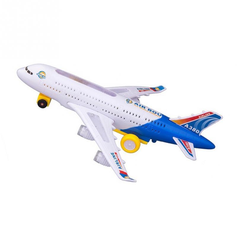 Airplane Moving Flashing Lights sing For Kids Toy DIY ...