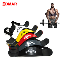 DMAR Weightlifting Arm Blaster Adjustable Aluminum Alloy Bomber Bicep Curl Triceps Board Muscle Exercise Fitness Gym Equipment